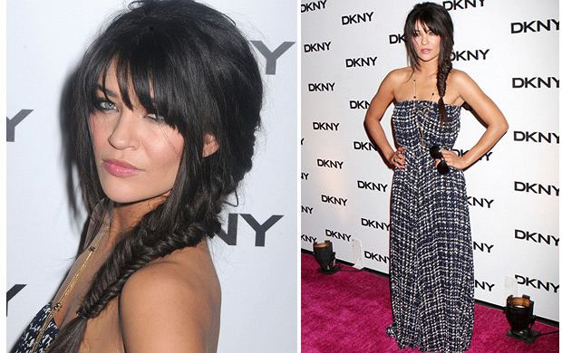 Jessica Szohr na imprezie DKNY