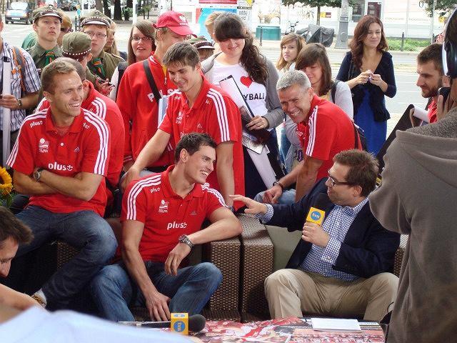 Reprezentacja Polski w siatkówce w DDTVN