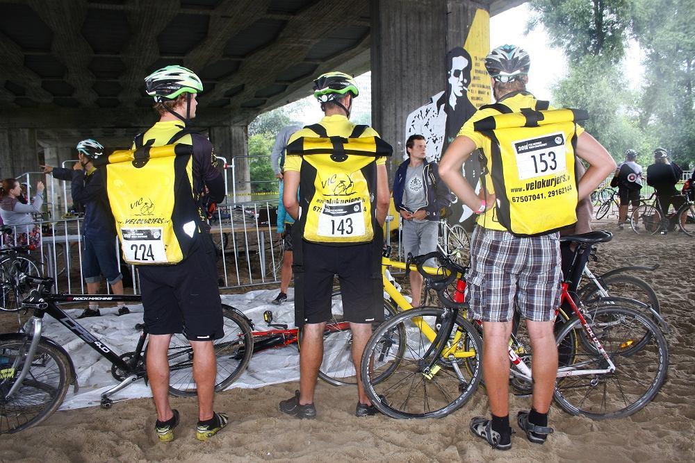 Mistrzostwa świata kurierów rowerowych w Warszawie