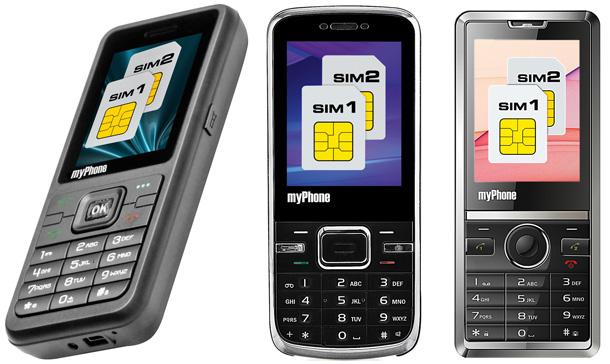 komórka, komórka dwusimowa, myPhone
