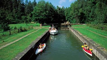 Śluza Paniewo na Kanale Augustowskim