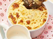 Zapiekana kasza z białym serem - ugotuj