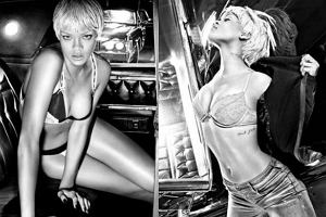 Rihanna dla Armani - więcej zdjęć!