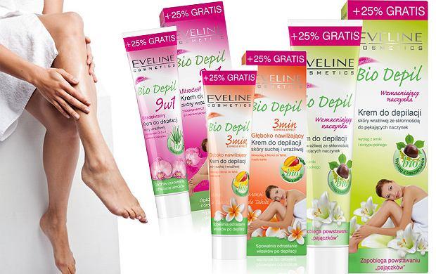 Kremy do depilacji Eveline Cosmetics