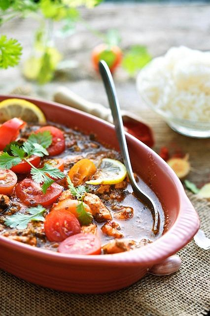 Ndunda soso - kurczak po kenijsku