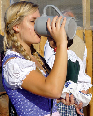 niemcy, monachium, oktoberfest, piwo, bawaria
