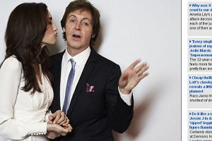 Paul McCartney i Nancy Shevell.