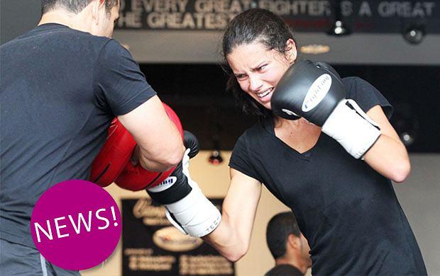 Adriana Lima kocha boks