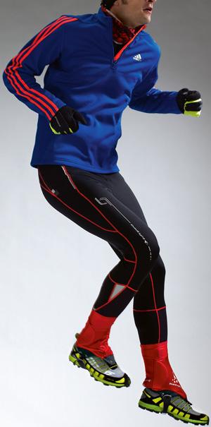 jogging, bieganie, zima, strój