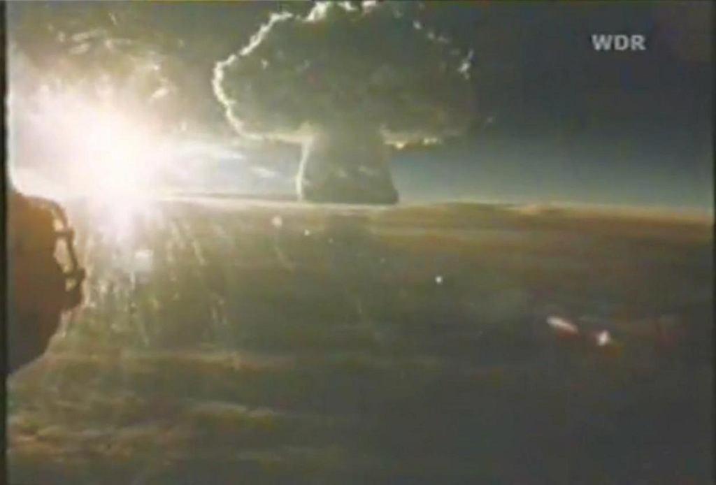 Wybuch bomby Car