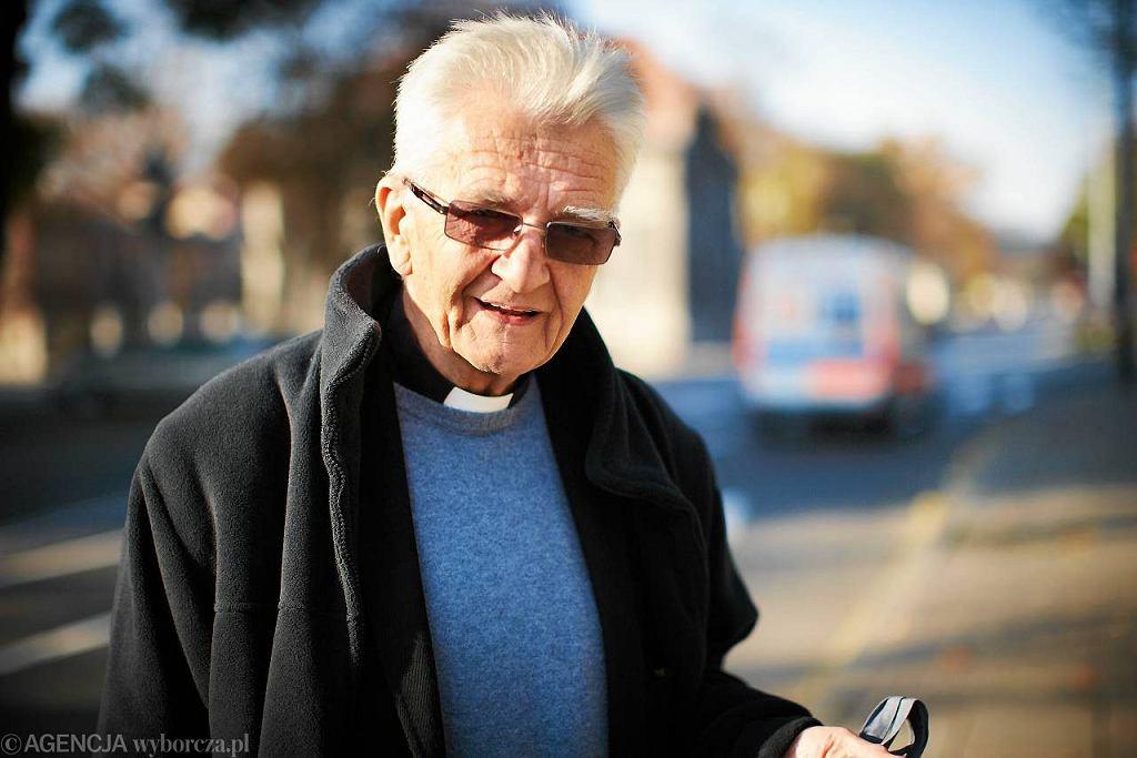 Ksiądz Adam Boniecki z wizytą w Łodzi