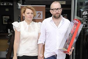 Ania Dąbrowska i jej partner Paweł Jóźwicki tworzą zgraną parę.