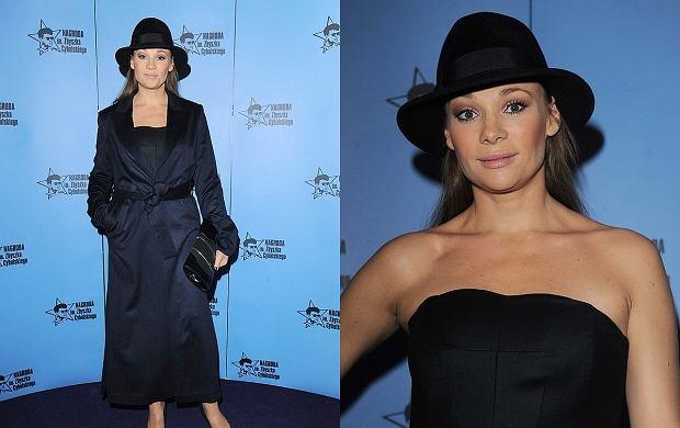Aktorka Sonia Bohosiewicz zrobiła furorę swoją najnowszą stylizacją. Sukienka i efektowny kapelusz okazały się strzałem w dziesiątkę. Bohosiewicz wygląda pięknie!