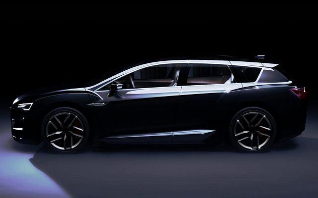 Subaru Advanced Tourer Hybrid Concept