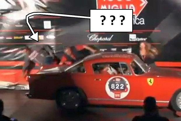 Drobna wpadka przy prezentacji Ferrari...