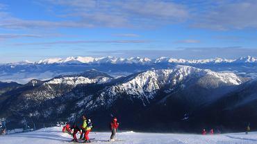Chopok, Słowacja, narty
