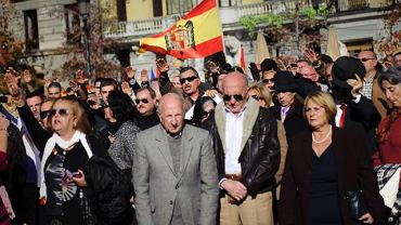 Zwolennicy generała Franco oddają mu hołd w 36. rocznicę jego śmierci
