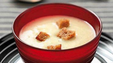 Zupa krem z ziemniaków z grappą