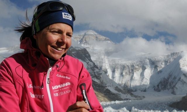 Gerlinde Kaltenbrunner, zdobywczyni Korony Himalajów