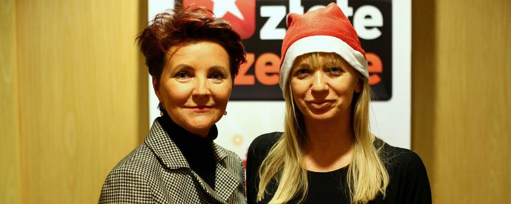 Aleksandra Kwaśniewska i Marzena Rogalska