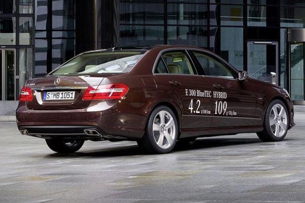 Hybrydowe Mercedesy klasy E