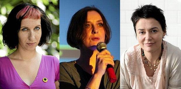 Sylwia Chutnik, Joanna Piotrowska, Kazimiera Szczuka