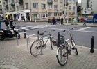 Setki stojaków na rowery wiosną staną przed warszawskimi szkołami