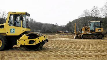Budowa boiska treningowego dla Niemców w Gdańsku rozpoczęła się w styczniu 2012 r.