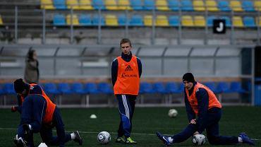 Trening piłkarzy Arki Gdynia
