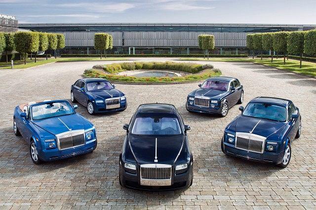 Rolls-Royce - paleta modeli