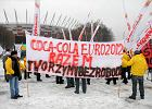 Protest pod Narodowym. Sponsor zwalnia pracowników