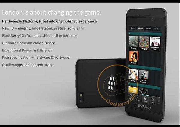 Czy tak wygląda BlackBerry London?
