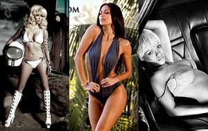 Kim Kardashian, Nicole Scherzinger i Rihanna