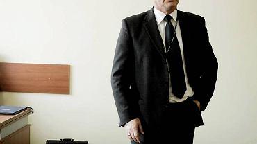 Inspektor Wojciech Sobczak, szef pomorskiej policji