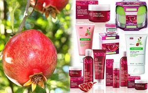 kosmetyki z granatem, granat dla urody, wyciąg z granatu, owocowe kosmetyki
