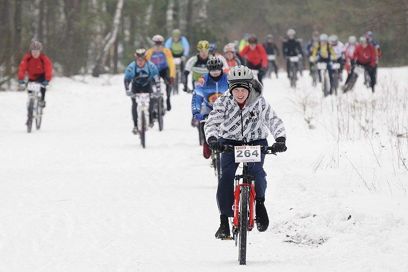 Northtec MTB Zimą Karczew 2012