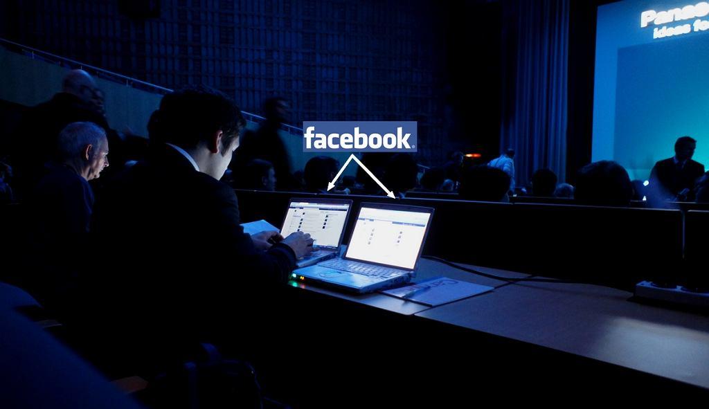 Facebook na konferencji Panasonica Fot. Szymon Adamus