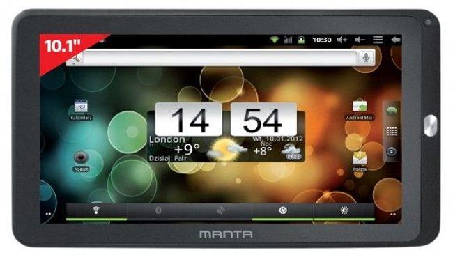 Manta PowerTab X z darmowym internetem już w przyszłym miesiącu