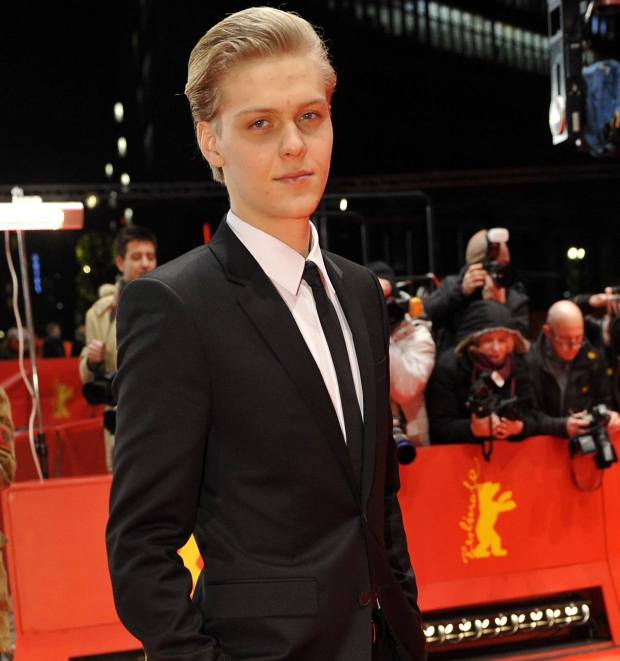 Actor Jakub Gierszal of Poland poses on red carpet as he arrives for the 'Shooting Star Award', a prize for the ten most promising young European actors, at the 62nd Berlinale International Film Festival in Berlin February 13, 2012.   REUTERS/Morris Mac Matzen (GERMANY - Tags: ENTERTAINMENT)