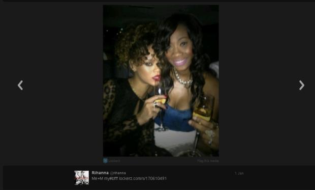 Rihanna, impreza, alkohol