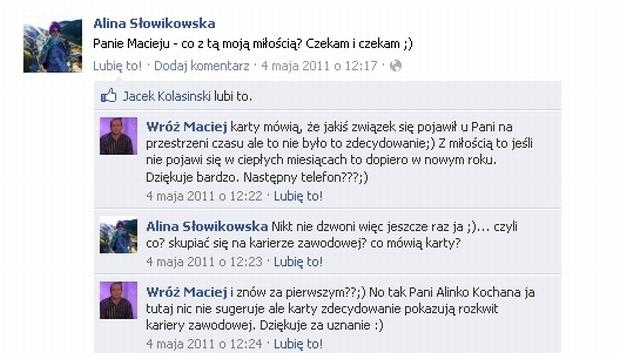 Fot. za Facebook.com / Wróż Maciej