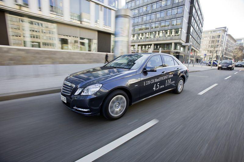 Mercedes E 220 CDI Blue Efficiency