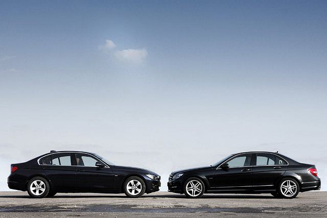 BMW serii 3 kontra Mercedes klasy C