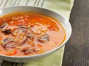 Zupa a'la minestrone z jagnięciną