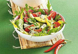 Salatka Z Rukola I Mango Prosty Przepis I Skladniki Ugotuj To