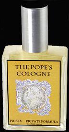 The Pope's Cologne - perfumy według receptury prywatnej wody kolońskiej Piusa IX, perfumy