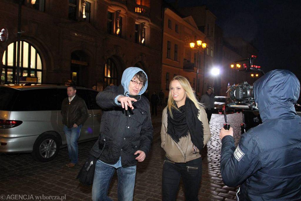 Karolina Woźniacka podczas wizyty w Toruniu