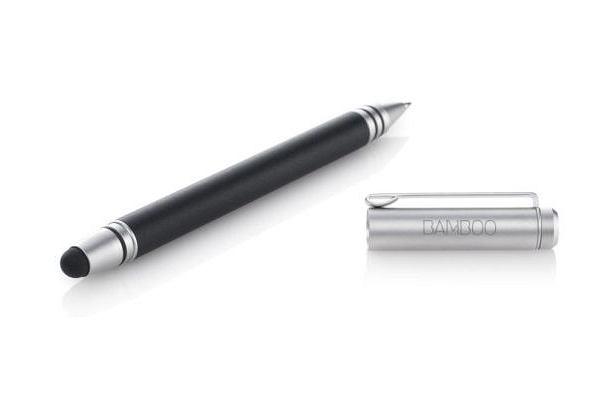 Bamboo Stylus Duo to połączenie rysika do tabletów i długopisu