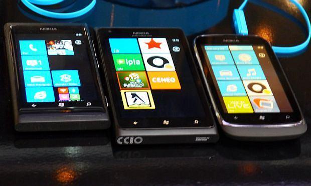 Nokia Lumia 800, 900 i 610