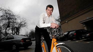 Remigiusz Kitliński, gdański oficer rowerowy